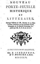 Nouveau Porte-Feuille Historique Et Litteraire: Ouvrage Posthume