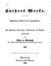 Werke: Vollständige Auswahl seiner Hauptschriften. Mit historischen einleitungen, Bände 22-24