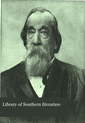 Library of Southern Literature: Volume 7