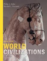 World Civilizations  Volume I  To 1700 PDF