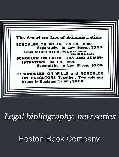 Legal Bibliography  New Series PDF