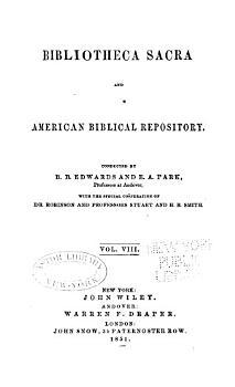 Bibliotheca Sacra PDF
