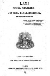 L'Ami de la religion: Volume108