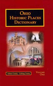 Ohio Historic Places Dictionary: Volume 2