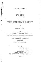 Reports of Cases ... 1754-1845: Volumes 34-35