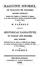 Racconti istorici: in Italiano ed Inglese : entrambi accentuati