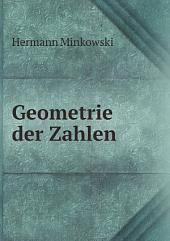 Geometrie der Zahlen