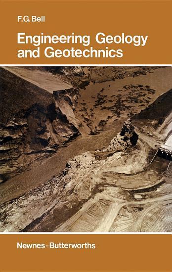 Engineering Geology and Geotechnics PDF