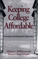 Keeping College Affordable