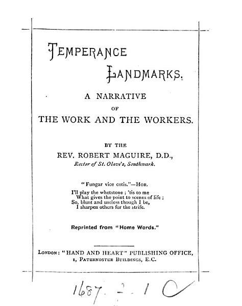 Download Temperance Landmarks Book