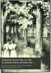 Katherine Somerville, Or, The Southland Before and After the Civil War