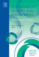 Sustainability Science and Engineering PDF