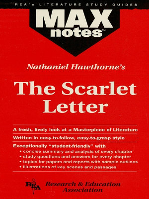 Scarlet Letter  the  MAXNotes Literature Guides