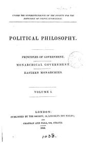 Political philosophy [by H.P. Brougham].