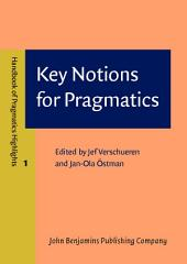 Key Notions for Pragmatics