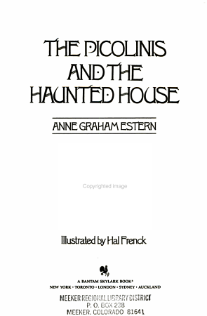 The Picolinis and the Haunted House PDF
