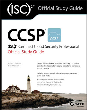 CCSP  ISC 2 Certified Cloud Security Professional Official Study Guide PDF