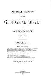 Annual Report of the Geological Survey of Arkansas: Volume 2