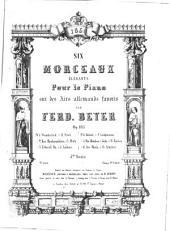 Six morceaux élégants pour le piano sur des airs allemands favoris: op. 105. Wanderlied, Volume 1