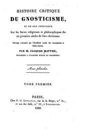 Histoire critique du gnosticisme ...