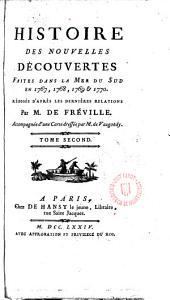 Histoire des nouvelles découvertes faites dan la mer du Sud en 1767, 1768, 1769 & 1770