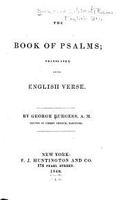 The Book of Psalms: Translated Into English Verse