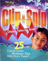 Clip N Snip Object Talks For Kids  Book PDF