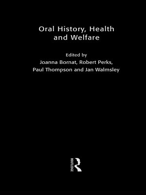 Oral History  Health and Welfare PDF