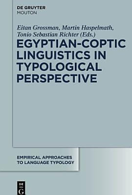 Egyptian Coptic Linguistics in Typological Perspective PDF