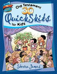 30 Old Testament Quickskits For Kids Book PDF