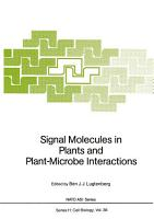 Signal Molecules in Plants and Plant Microbe Interactions PDF