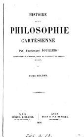 Histoire de la philosophie cartésienne: Volume1