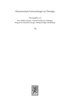 Personale Identit  t in der Theologie des Paulus PDF