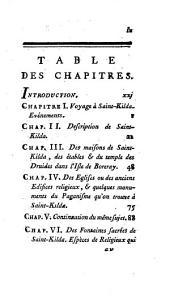 Histoire de Saint-Kilda: imprimée en 1764, traduite de l'anglois ...