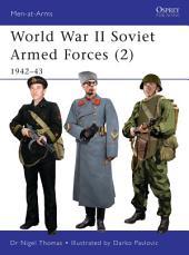 World War II Soviet Armed Forces (2): 1942–43