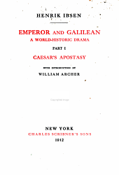 The Works of Henrik Ibsen: Emperor and Galilean
