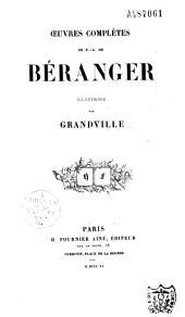 Oeuvres complètes de P.-J. de Béranger illustrées par Grandville