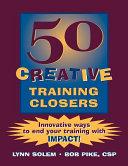 50 Creative Training Closers