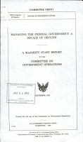 Managing the Federal Government PDF
