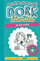 Dork Diaries  Dear Dork PDF