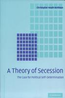 A Theory of Secession PDF