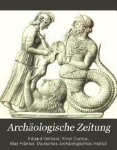 Archäologische Zeitung: Bände 29-30