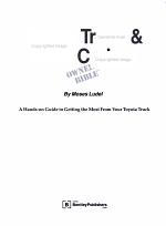 Toyota Truck & Land Cruiser Owner's Bible