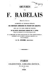 Œuvres de F. Rabelais