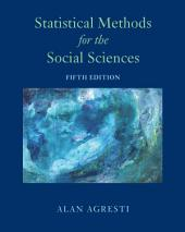 Statistical Methods for the Social Sciences: Edition 5