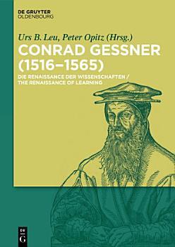Conrad Gessner  1516 1565  PDF