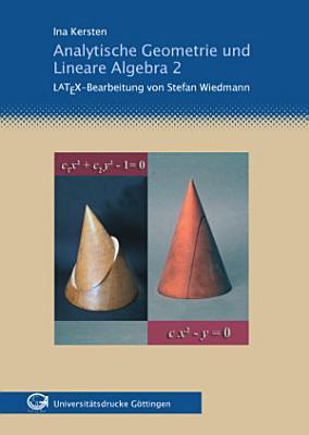 Analytische Geometrie und lineare Algebra PDF