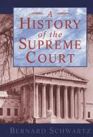A History of the Supreme Court PDF