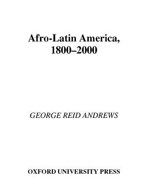 Afro Latin America  1800 2000