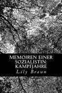 Memoiren Einer Sozialistin PDF